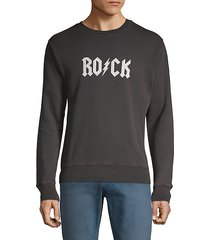 graphic cotton blend sweatshirt