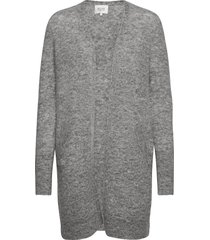 brook knit cape stickad tröja cardigan grå second female