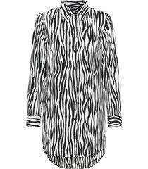 camicetta zebrata (nero) - bodyflirt