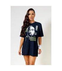 camisão t-shirt pac poetc preto