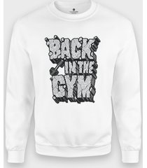 bluza back in the gym