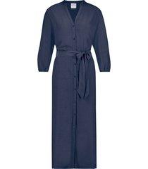 jurk midi donkerblauw