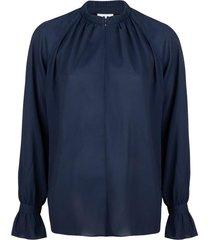 blouse gigi  blauw