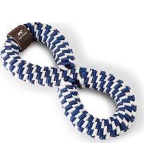 infinity braided dog toy