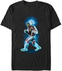 marvel men's avengers endgame hulk armor suit, short sleeve t-shirt