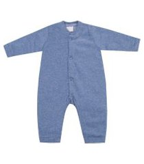 macacáo pijama miniclo azul