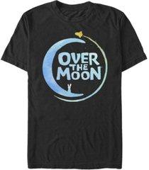 fifth sun men's over the moon logo alt2 short sleeve t-shirt