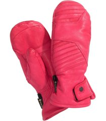spyder women's turret gtx leather ski mittens