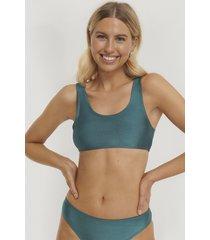 na-kd swimwear bikiniöverdel - turquoise
