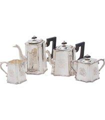 conjunto de chá de prata steen
