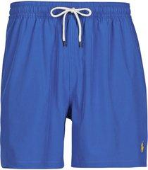 zwembroek polo ralph lauren maillot short de bain en nylon recycle, cordon de serrage et poc