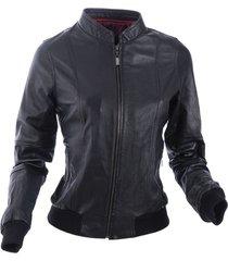 chaqueta rutt negro bosi