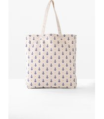 borsa shopper in tessuto (beige) - bpc bonprix collection