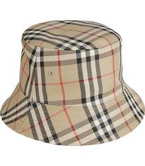burberry panel bucket hat