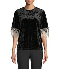 jennifer embellished blouse