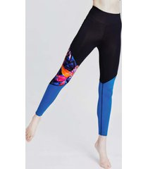 legginsy panther bloc blue