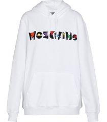 moschino oversize hoodie