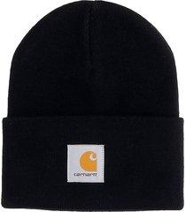 carhartt hat logo hats in black acrylic