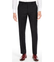 bar iii men's slim-fit black stripe suit separate pants, created for macy's