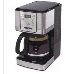 cafeteira digital programável oster bvstdc4401 preta 36 xícaras - 127v