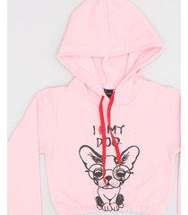 buzo rosa chelsea market dog
