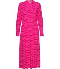 loganiw dress maxi dress galajurk roze inwear