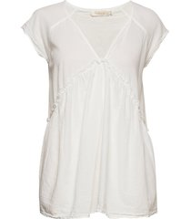 julianna t-shirts & tops short-sleeved creme rabens sal r