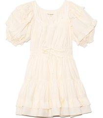 naomi dress in blanc