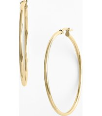 women's bony levy 14k gold hoop earrings (nordstrom exclusive)