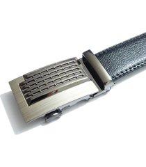 cinturon hombre lujo hebilla automatica i04 - color negro