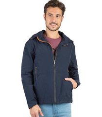 jaqueta com capuz removível taco masculina