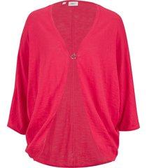 cardigan in cotone leggero (rosso) - bpc bonprix collection
