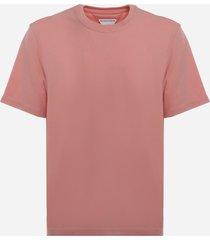 bottega veneta cotton jersey crewneck t-shirt