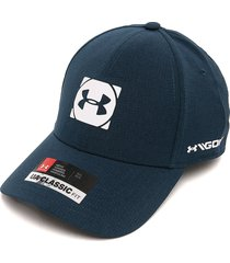 gorra azul-blanco under armour ua classic