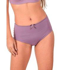 calcinha confort vip lingerie poliamida elástico invisível nude