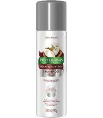 phytoervas hidratação intensa shampoo à seco 150ml