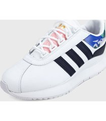 tenis lifestyle blanco-multicolor adidas originals andridge