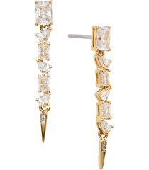 women's nadri linear drop earrings