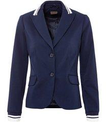 blazer con dettagli a contrasto (blu) - rainbow