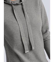 trui alba moda grijs
