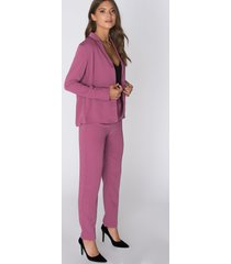 fayt porter pants - purple