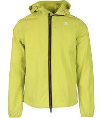 k-way jacques crinkle rip-stop jacket