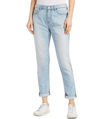 frame women's le beau cargo mixed-media high rise jeans - canterbury - size 27 (4)