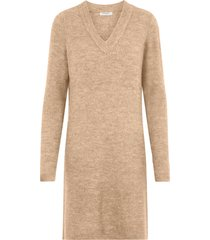 klänning pcellen ls v-neck knit dress