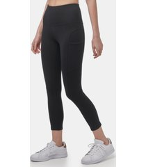 marc new york performance women's cotton-spandex with side pockets legging