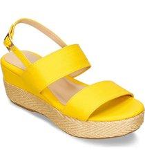 sandalias amarillo bata ilix mujer