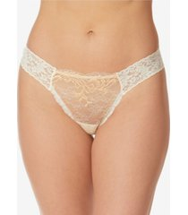 hanky panky women's amber original rise diamond thong
