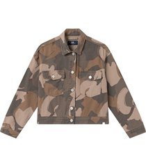 marie jacket brush camo