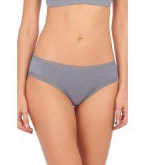 natori bliss girl brief panty, women's, 100% cotton, size xl