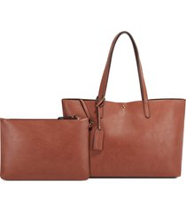 sole society zeda faux leather tote -